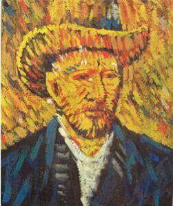 Van Gogh by Jamini Roy